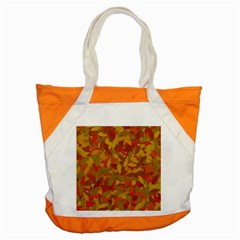 Orange Autumn Accent Tote Bag by Valentinaart