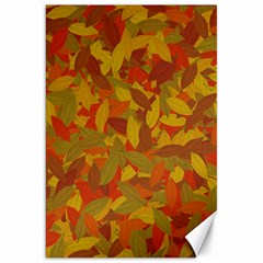 Orange Autumn Canvas 20  X 30   by Valentinaart