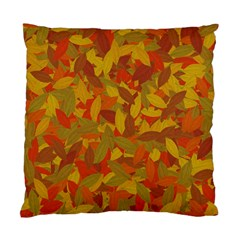 Orange Autumn Standard Cushion Case (two Sides) by Valentinaart