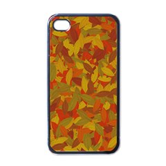 Orange Autumn Apple Iphone 4 Case (black) by Valentinaart