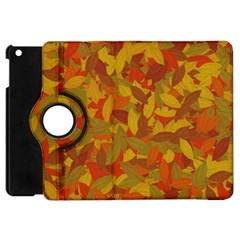 Orange Autumn Apple Ipad Mini Flip 360 Case