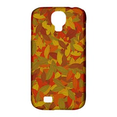 Orange Autumn Samsung Galaxy S4 Classic Hardshell Case (pc+silicone) by Valentinaart
