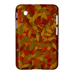 Orange Autumn Samsung Galaxy Tab 2 (7 ) P3100 Hardshell Case  by Valentinaart