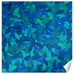 Blue Autumn Canvas 12  X 12   by Valentinaart