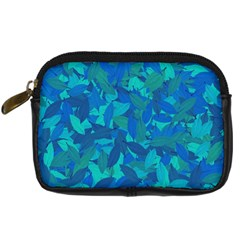 Blue Autumn Digital Camera Cases by Valentinaart