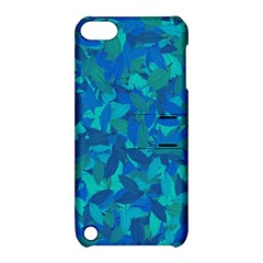 Blue Autumn Apple Ipod Touch 5 Hardshell Case With Stand by Valentinaart