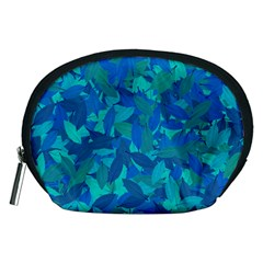 Blue Autumn Accessory Pouches (medium)  by Valentinaart