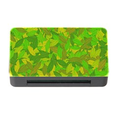 Green Autumn Memory Card Reader With Cf by Valentinaart