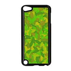 Green Autumn Apple Ipod Touch 5 Case (black) by Valentinaart