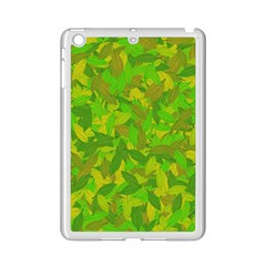 Green Autumn Ipad Mini 2 Enamel Coated Cases by Valentinaart