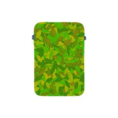 Green Autumn Apple Ipad Mini Protective Soft Cases by Valentinaart