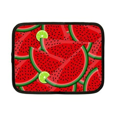Watermelon Slices Netbook Case (small)  by Valentinaart