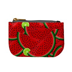 Watermelon Slices Mini Coin Purses by Valentinaart