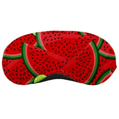 Watermelon Slices Sleeping Masks by Valentinaart