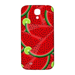 Watermelon Slices Samsung Galaxy S4 I9500/i9505  Hardshell Back Case by Valentinaart