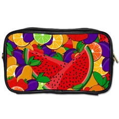 Summer Fruits Toiletries Bags by Valentinaart