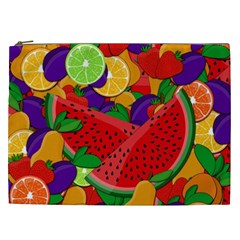 Summer Fruits Cosmetic Bag (xxl)
