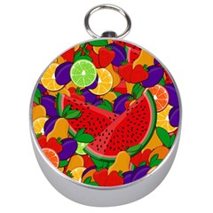 Summer Fruits Silver Compasses