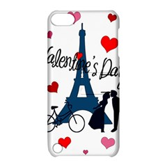Valentine s Day   Paris Apple Ipod Touch 5 Hardshell Case With Stand by Valentinaart