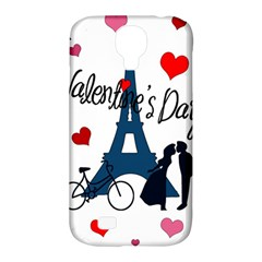 Valentine s Day   Paris Samsung Galaxy S4 Classic Hardshell Case (pc+silicone) by Valentinaart