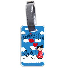 Girls Daydream Luggage Tags (two Sides) by Valentinaart