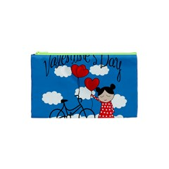 Girls Daydream Cosmetic Bag (xs) by Valentinaart
