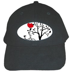 Love Hill Black Cap by Valentinaart