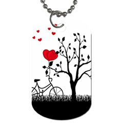 Love Hill Dog Tag (one Side)