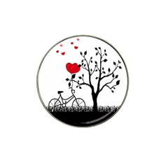 Love Hill Hat Clip Ball Marker (10 Pack) by Valentinaart