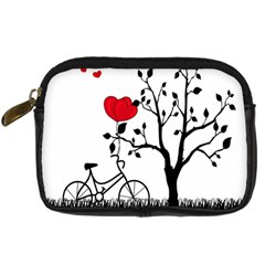 Love Hill Digital Camera Cases by Valentinaart