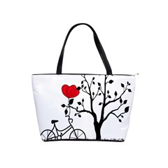 Love Hill Shoulder Handbags by Valentinaart