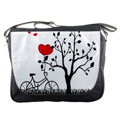 Love Hill Messenger Bags by Valentinaart