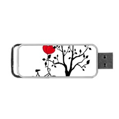 Love Hill Portable Usb Flash (two Sides) by Valentinaart