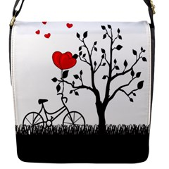 Love Hill Flap Messenger Bag (s) by Valentinaart