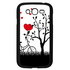 Love Hill Samsung Galaxy Grand Duos I9082 Case (black) by Valentinaart