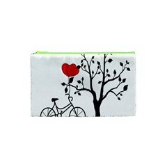 Love Hill Cosmetic Bag (xs) by Valentinaart
