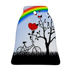 Love Hill   Rainbow Ornament (bell)