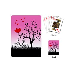 Love Sunrise Playing Cards (mini)  by Valentinaart