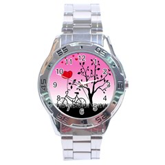 Love Sunrise Stainless Steel Analogue Watch by Valentinaart