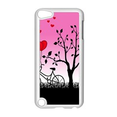 Love Sunrise Apple Ipod Touch 5 Case (white) by Valentinaart