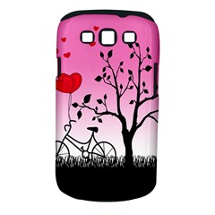 Love Sunrise Samsung Galaxy S Iii Classic Hardshell Case (pc+silicone) by Valentinaart