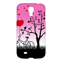 Love Sunrise Samsung Galaxy S4 I9500/i9505 Hardshell Case by Valentinaart