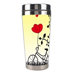 Romantic Sunrise Stainless Steel Travel Tumblers by Valentinaart