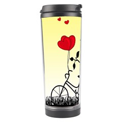 Romantic Sunrise Travel Tumbler by Valentinaart