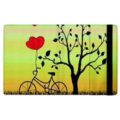 Love Sunrise Apple Ipad 3/4 Flip Case by Valentinaart
