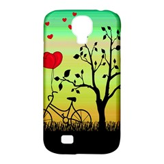 Love Sunrise Samsung Galaxy S4 Classic Hardshell Case (pc+silicone) by Valentinaart