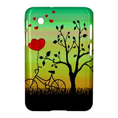Love Sunrise Samsung Galaxy Tab 2 (7 ) P3100 Hardshell Case  by Valentinaart