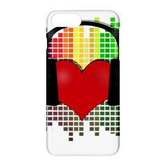 Music Apple Iphone 7 Plus Hardshell Case by Valentinaart