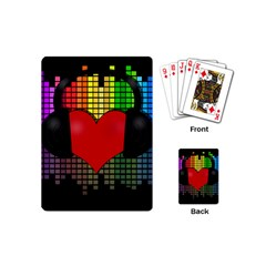 Love Music Playing Cards (mini)