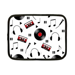 Music Pattern Netbook Case (small)  by Valentinaart
